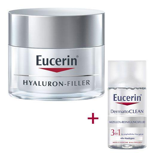 EUCERIN Anti-Age HYALURON-FILLER Tag trockene Haut 50 ml..