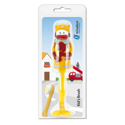 MIRADENT Kinderzahnbürste Kid's Brush Fireman