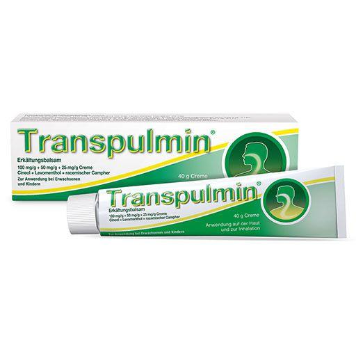 TRANSPULMIN Erkältungsbalsam 100 g | PZN 00616824 | besamex.de