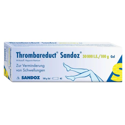 THROMBAREDUCT Sandoz 30. 000 I. E.  Gel