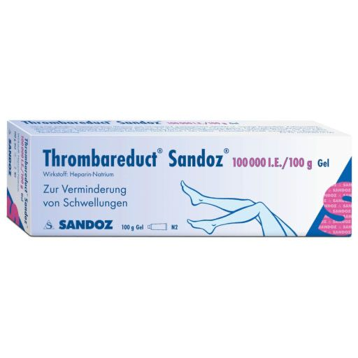 THROMBAREDUCT Sandoz 100. 000 I. E.  Gel