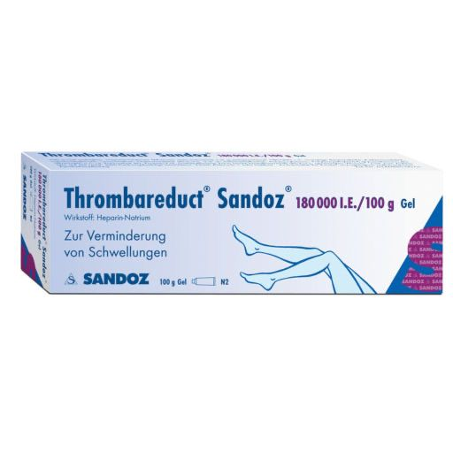 THROMBAREDUCT Sandoz 180. 000 I. E.  Gel
