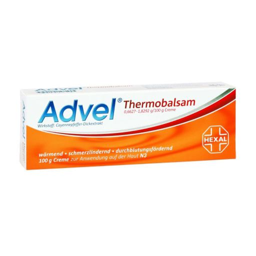 ADVEL Thermobalsam 0,6627-1,8292g/100g Creme
