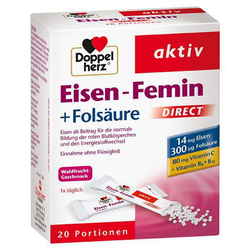 DOPPELHERZ Eisen-Femin DIRECT Pellets