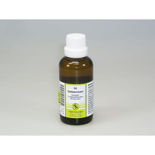GELSEMIUM KOMPLEX Nr.56 Dilution 50 ml - PZN 01910170..