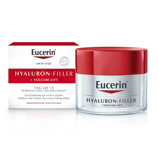 EUCERIN Anti-Age VOLUME-FILLER Tag norm. /Mischhaut