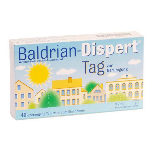 baldrian dispert tag berzogene tabletten 100 st pflanzliche medikamente natur hom opathie. Black Bedroom Furniture Sets. Home Design Ideas