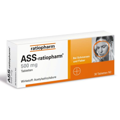 ASS-ratiopharm 500 mg Tabletten