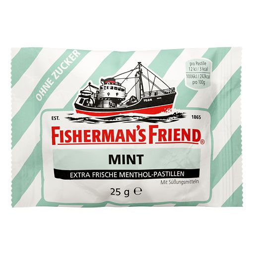FISHERMANS FRIEND mint ohne Zucker Pastillen
