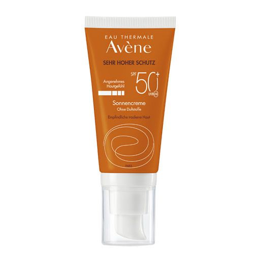 AVENE SunSitive Sonnencreme SPF 50+ o. Duftst.