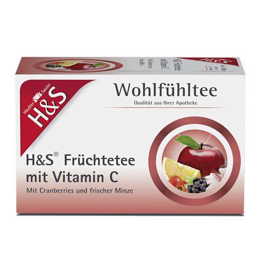 h s fr chte mit vitamin c filterbeutel 20 st h s tee markenshops. Black Bedroom Furniture Sets. Home Design Ideas