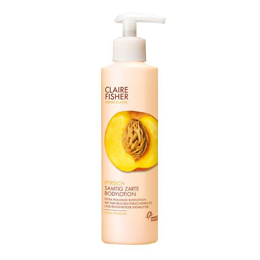 CLAIRE FISHER Nat. Classic Pfirsich Bodylotion N