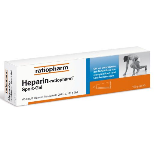 HEPARIN RATIOPHARM Sport Gel