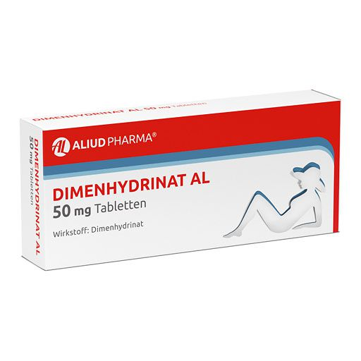 DIMENHYDRINAT AL 50 mg Tabletten