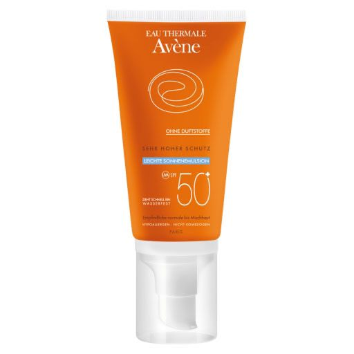 AVENE SunSitive Sonnenemulsion SPF 50+ o. Duftst.