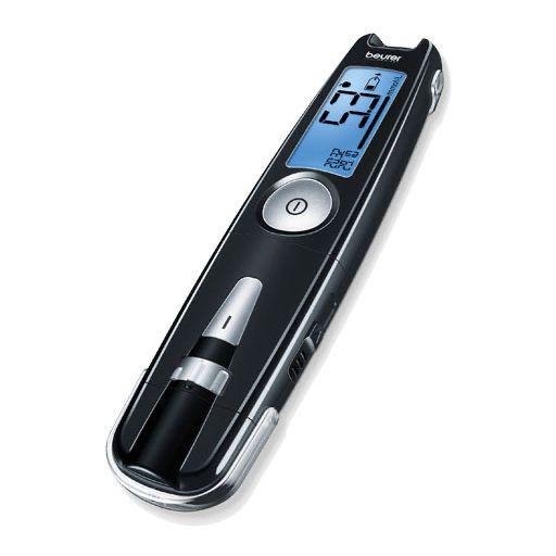 BEURER GL50 mg/dl Blutzuckermessgerät schwarz 1 St