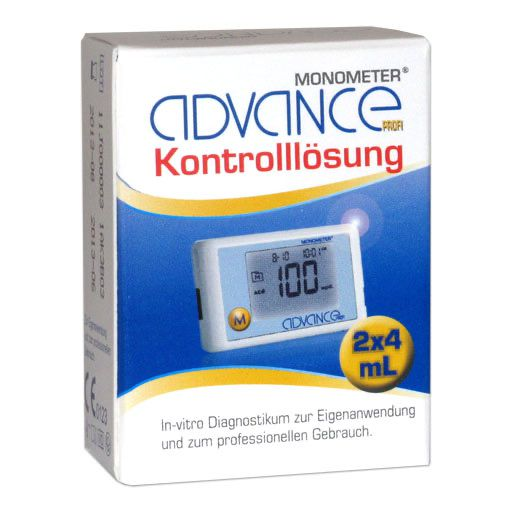 ADVANCE Monometer Blutzucker Kontrolllösung GDH