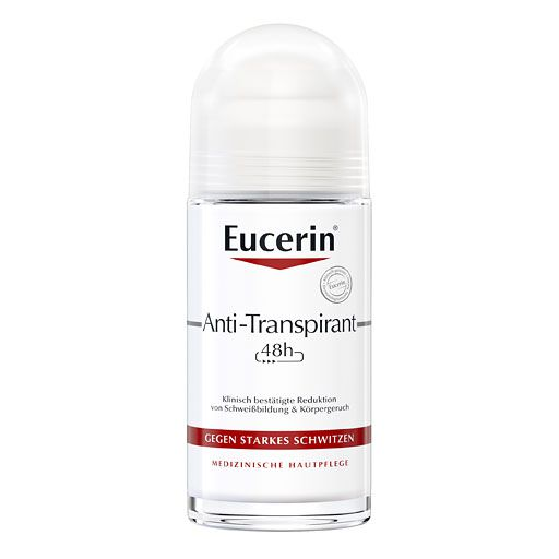 EUCERIN Deodorant Antitranspirant Roll-on 48h