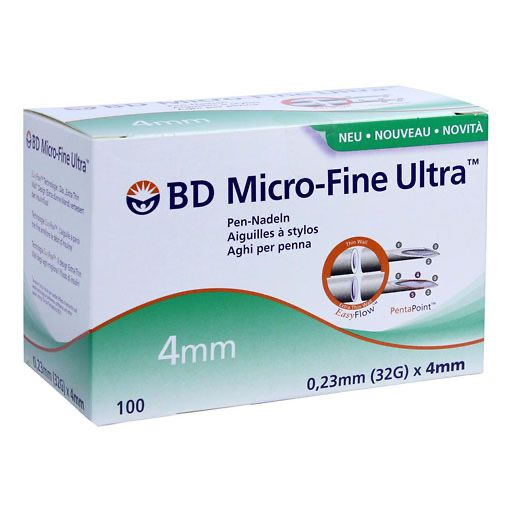 BD MICRO-FINE ULTRA Pen-Nadeln 0,23x4 mm