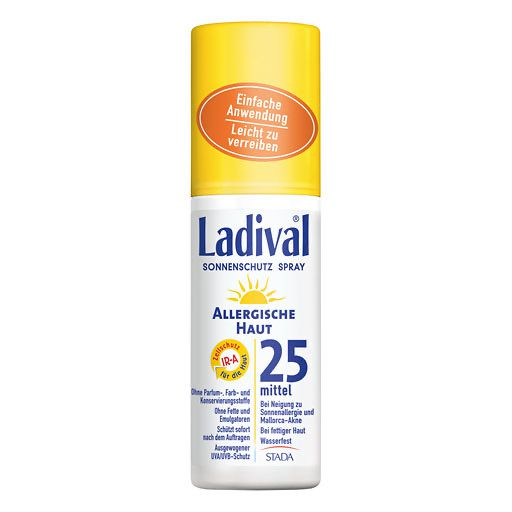 LADIVAL allergische Haut Spray LSF 25