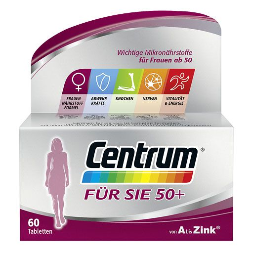 centrum f r sie 50 capletten 60 st multivitamine. Black Bedroom Furniture Sets. Home Design Ideas