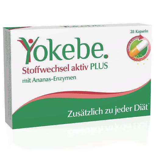 YOKEBE Plus Stoffwechsel aktiv Kapseln 28 St