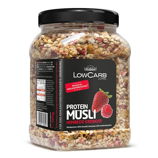 LAYENBERGER LowCarb. one Müsli Himbeer-Erdbeer