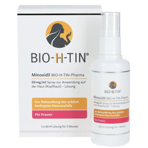 MINOXIDIL BIO-H-TIN Pharma 20 mg/ml Spray Lsg.