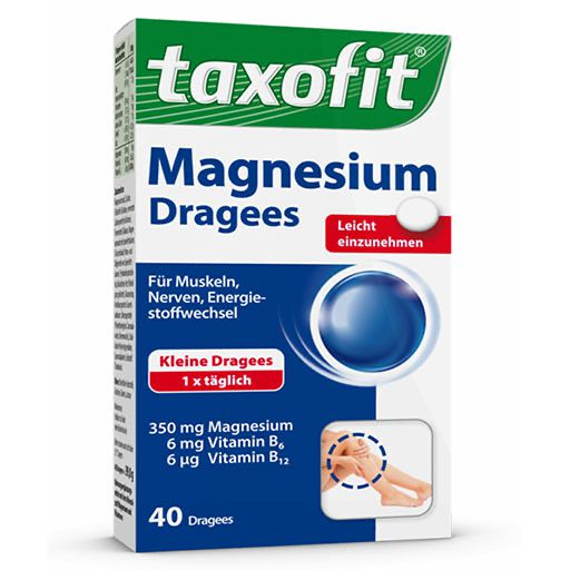TAXOFIT Magnesium 350 Dragees