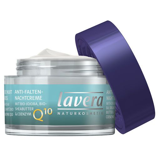 LAVERA basis sensitiv Nachtcreme Q10 dt