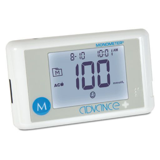 ADVANCE Plus Monometer Blutz. Mes. Starterset mmol/l