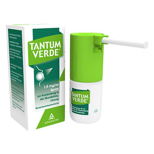 TANTUM VERDE 1,5 mg/ml Spray z. Anwen. i. d. Mundhöhle