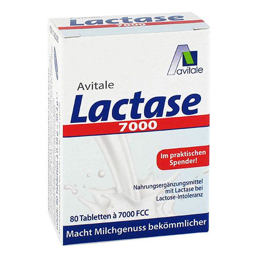 LACTASE 7. 000 FCC Tabletten im Spender