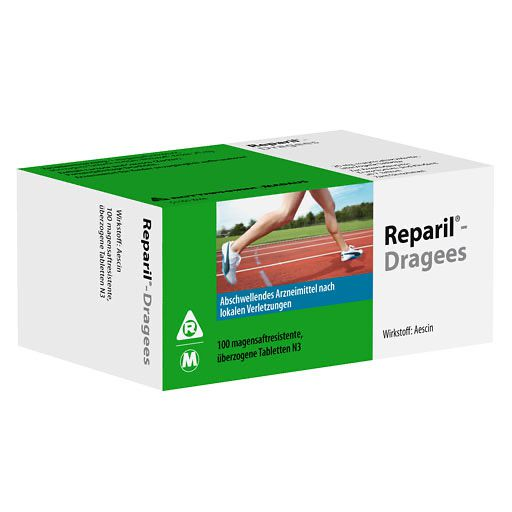REPARIL-Dragees Madaus magensaftres. Tabletten
