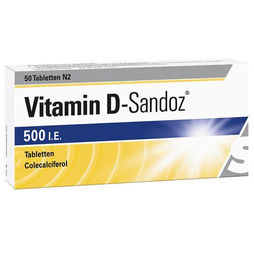 vitamin d sandoz 500 i e tabletten 100 st vitamin d. Black Bedroom Furniture Sets. Home Design Ideas
