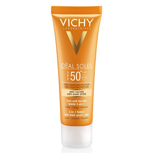 VICHY IDEAL Soleil Anti-Pigmentflecken Cr. LSF 50+