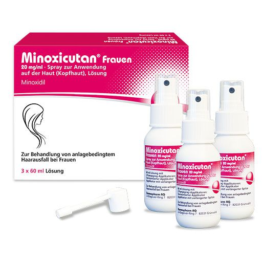 MINOXICUTAN Frauen 20 mg/ml Spray