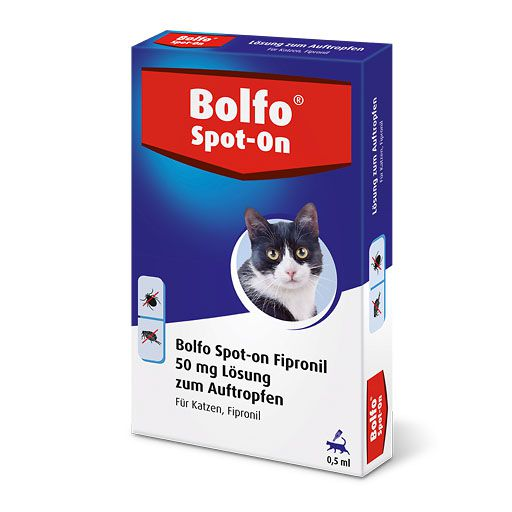 BOLFO Spot-On Fipronil 50 mg Lsg. f. Katzen