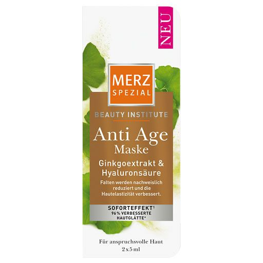 MERZ Spezial Beauty Institute Anti-Age Maske