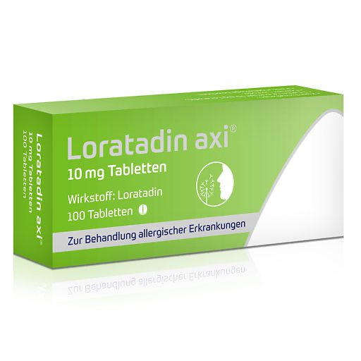 LORATADIN axi 10 mg Tabletten