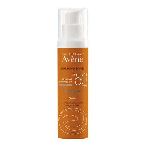 AVENE SunSitive Cleanance Sonne Emu. SPF 50+ getönt