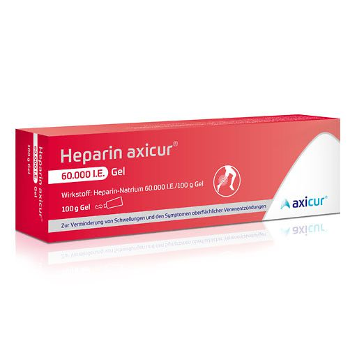 HEPARIN AXICUR 60. 000 I. E.  Gel