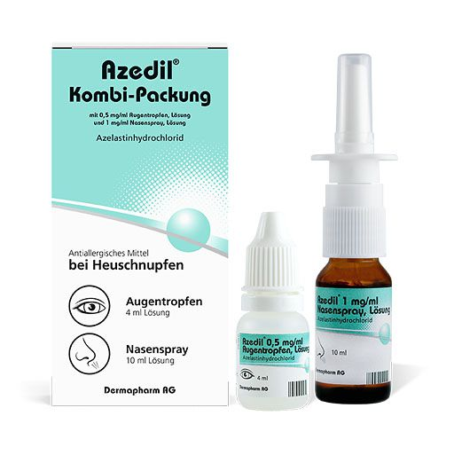 AZEDIL Kombi-Packung 0,5mg/ml AT 1mg/ml Nasenspr.