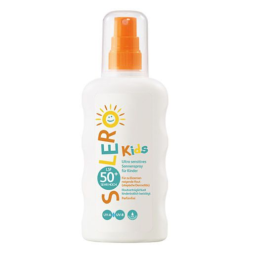 SOLERO Ultra sensitives Sonnenspray Kinder LSF 50+